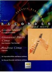 3 canzoni strumentali/2 Sonatas/Capriccio
