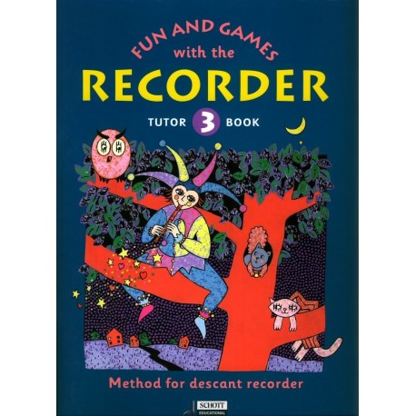 Fun and Games with the Recorder Tune Book Vol 3
