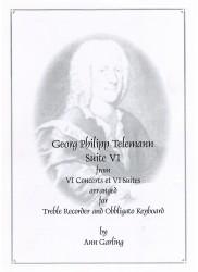 Suite VI from VI Concerts et VI Suites in f minor TWV42:d3