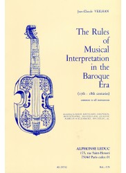 Rules of Musical Interpretation in The Baroque Era