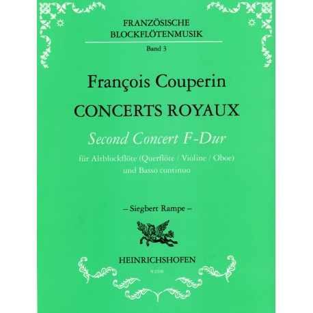 Concerts Royaux: Second Concert in F Major