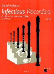 Infectious Recorders + CD