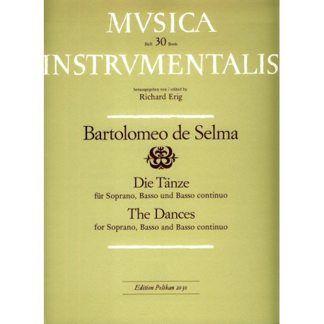 The Dances for Soprano, Basso and Basso Continuo