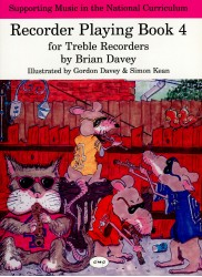 Recorder Playing for Treble Recorders Book 4