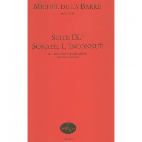 Suite IX, Sonate L'Inconnue