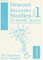 Descant Recorder Studies Book 1: 16 Melodic Studies