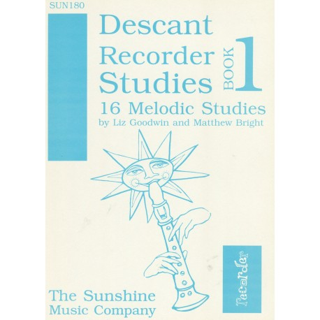 Descant Recorder Studies Book 1: 16 Melodic Studies