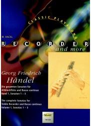 The Complete Sonatas for Treble Recorder and Basso Continuo Vol 1, Sonatas 1-3