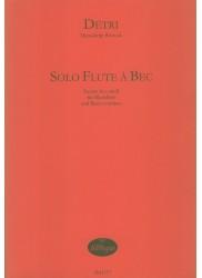 Solo Flute a Bec