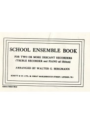 School Ensemble Book