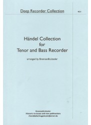 Handel Collection 15 Duos for Tenor and Bass Recorder