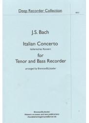 Italian Concerto for Tenor and Bass Recorder