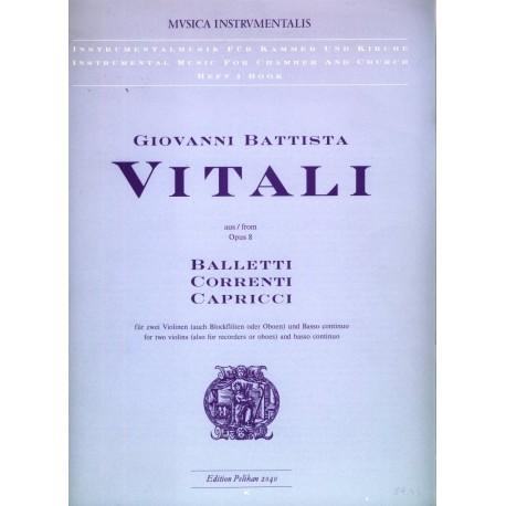 Baletti Correnti Capricci