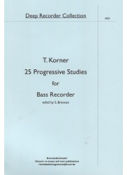 25 Progressive Studies for Bass Recorder