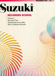 Recorder School Volume 5 Recorder Part
