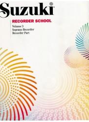 Recorder School Volume 3 Recorder Part