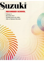 Recorder School Volume 6 Recorder Part