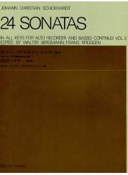 24 Sonatas volume 3.