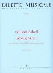 Sonata 3 in g minor