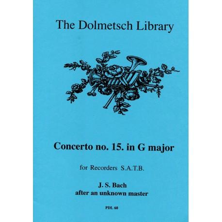 Concerto No. 15 in G Major