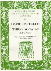 Three Sonatas Libro Primo
