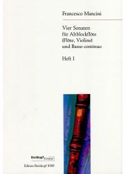 Four Sonatas Book I