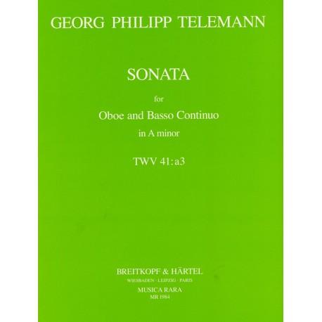 Sonata in a min TWV 41:a3