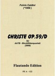 Christe Op. 59/D