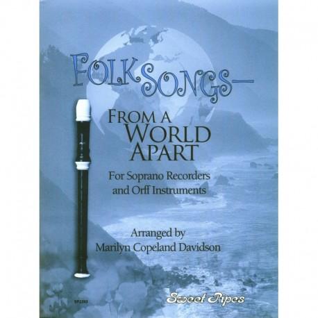 Folk Songs From A World Apart