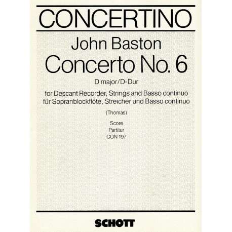 Concerto no. 6 in D Major