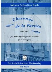 Chaconne de la Partita BWV 1004