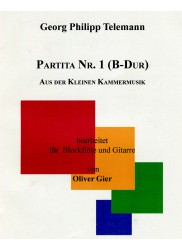 Partita no. 1 (Bb Major)