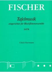Tafelmusik arranged for Recorder Quartet