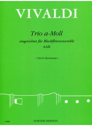 Trio in a minor after RV106