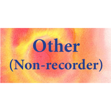Other (non recorder)