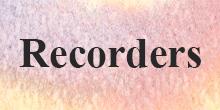 Sale Recorders