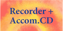 Recorder + Accompaniment CD
