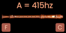 A-415 Hz Recorders